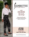 Silhouettes #3200 Sally's Pant - Sizes 4-18 & 14w-28w