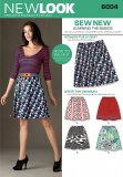 New Look 6004 MISSES SKIRTS PANTS