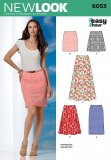 New Look 6053 MISSES SKIRTS PANTS