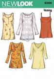 New Look 6086 MISSES' TUNICS