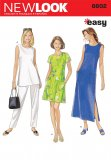 New Look 6602 MISSES DRESS, TUNIC, AND PANT