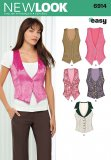 New Look 6914 MISSES TOPS VESTS