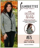 Silhouettes #875 Alesha's Blouse - Sizes 1-4 & 5w-8w