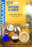 Maxant Buttons to Cover - Size 36 Kit