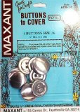 Maxant Buttons to Cover - Size 36 Refill