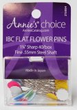 Annie's Choice 2155054 - IBC 40 Flat Flower Pins - 40