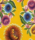 Wholesale Oilcloth - Bloom Yellow - 12 yds