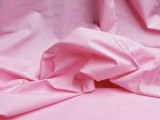 Broadcloth Fabric - Polyester-Cotton Blend - Bubblegum