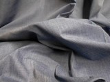 Broadcloth Fabric - Polyester-Cotton Blend - Chambray