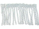 "Wholesale Bullion Fringe 2""- Metallic Silver - 9 yards"