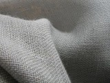Upholstery Burlap Jute Fabric - Light Grey