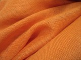 Upholstery Burlap Jute Fabric - Orange
