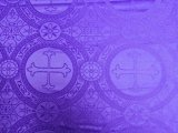 Church Brocade - Purple