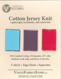 Color Card - Cotton Jersey Knit