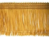 Wholesale Rayon Chainette Fringe - Mustard Gold #3 - 15 inch  -  18 yards