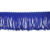 Rayon Chainette Fringe - Royal #10 - 2 inch