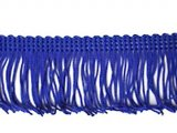 Wholesale Rayon Chainette Fringe - Royal #10, 4 inch   -  36 yards