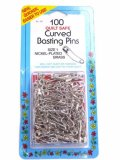 Collins- 100 Quilt Safe Curved Basting Pins