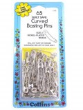 Collins- 65 Quilt Safe Curved Basting Pins