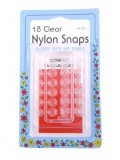 Collins 18 Clear Nylon Snaps