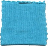 Cotton Jersey Knit Fabric - Aqua
