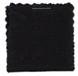 Cotton Jersey Knit Fabric - Black