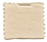 Cotton Jersey Knit Fabric - Cream