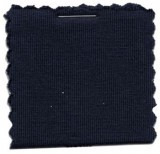 Cotton Jersey Knit Fabric - Navy