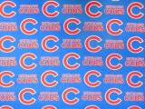 "Cubs Sports Cotton Print #6635B  -  60"" wide"
