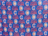 Wholesale Logo Polar Fleece - Chicago Cubs Polar Fleece #6567B - 10yds