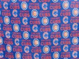 Chicago Cubs Fabric - Polar Fleece #6567-B