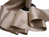 "Wholesale Double Faced Satin Ribbon - 3.75"" Taupe #62 - 27.5 yards"