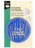 Dritz 158 - Compact of 25 Assorted Craft Needles