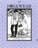 Folkwear #117 Croatian Shirt