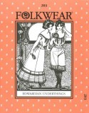 Folkwear #203 Edwardian Underthings