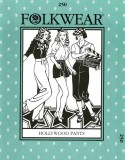 Folkwear #250 Hollywood Pants