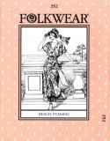 Folkwear #252 Beach Pyjamas