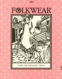 Folkwear #261 Paris Promenade Dress