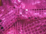 Wholesale Faux Sequin Knit - Squares - Fuchsia 25 yards