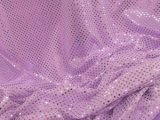 Wholesale Faux Sequin Knit Fabric - 1026 Lavender  25 yards