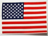 Applique - USA Flag - A2947 1A Sew On