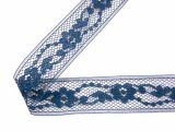 Wrights Flexi-Lace Hem Tape- Navy 55