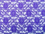 Wholesale Floral Lace - Royal,  25 yards
