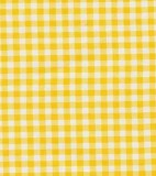 Oilcloth - Gingham Yellow