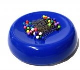 GrabbIt Magnetic Pin Cushion - Blue