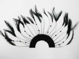 Beaded Half Hackle Plate - Black
