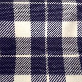 Wholesale Wool Coating - Made in Germany - Blue Plaid - 17 yard bolt