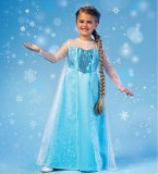 McCall's Costume Winter Princess - Kids 3-12