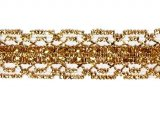 "Esoteric Metallic Trim 355 - 7/8""  Gold #03"