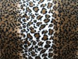 Wholesale Minky Animal Print Fur Fabric - Striped Leopard - 12 yards
